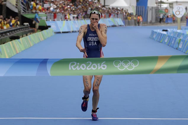 From heartbreak in London to joy in Rio as Gwen Jorgensen gives US first Olympic gold in triathlon