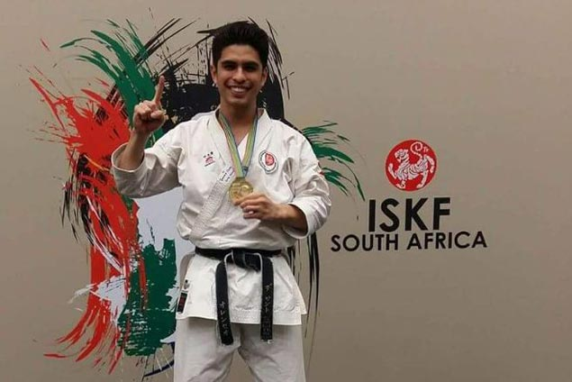OJ de los Santos retains kata title in World Shotocup Karate in South Africa