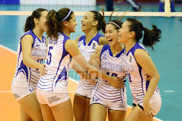 Surprising Ateneo Lady Eagles complete sweep of FEU, reach V-League finals
