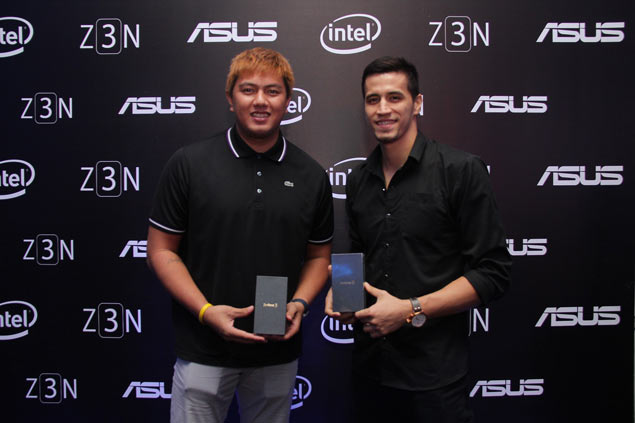 Pingris, Belga witness Zenvolution as Asus unveils latest smartphones and laptops