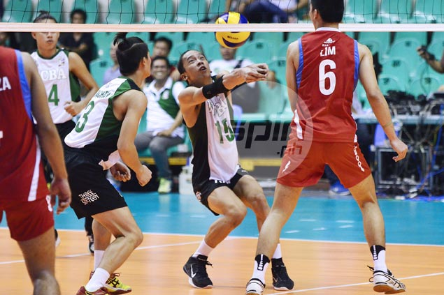 La Salle downs PMMS to forge four-way tie for group lead, NCBA scores first win in Spikers Turf