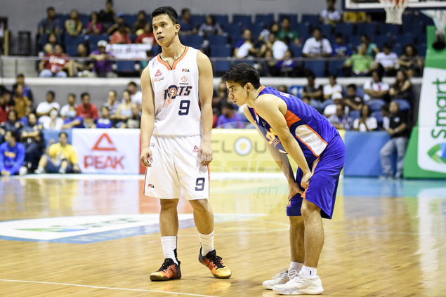 Injured Alapag had no doubt protege Baser Amer would fill void in his absence