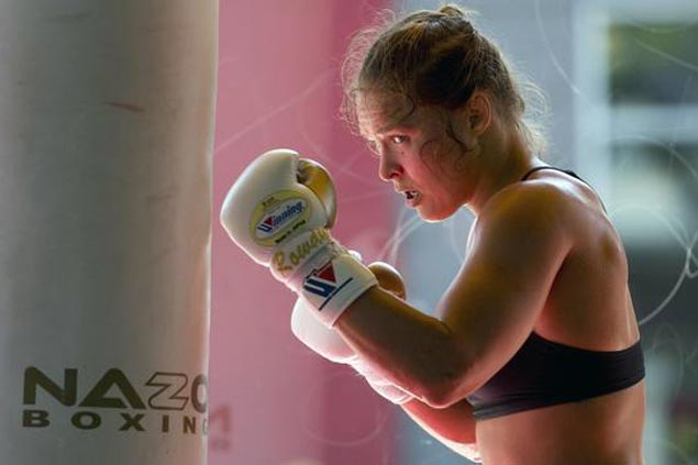 Ronda Rousey back in training, but UFC chief rules out comeback in historic New York card