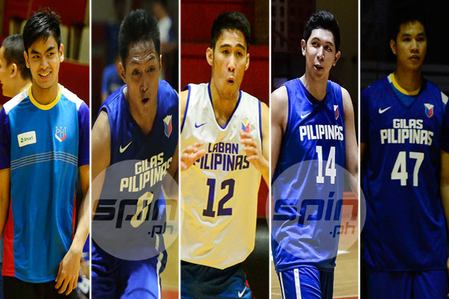 Van Opstal, Daquioag, Perez among new faces in Gilas lineup to Fiba Asia Challenge Cup