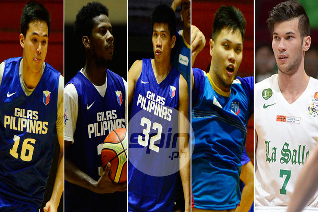 Lots of new faces in Final 12 of Gilas Pilipinas for Fiba Asia Challenge Cup