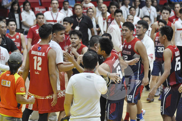 Letran's McJour Luib accuses Jun Bonsubre of trying to choke him during dust-up