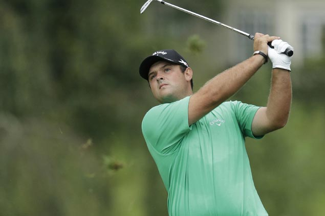 Patrick Reed breaks into share of early lead at Barclays with Martin Laird