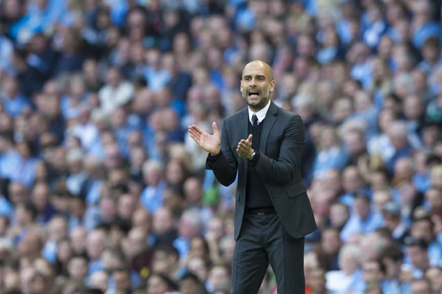 Manchester City coach Pep Guardiola faces old club Barcelona after Champions League draw