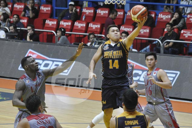 Teodoro, Poutouochi come up big in the clutch as JRU holds off Lyceum for fourth straight win