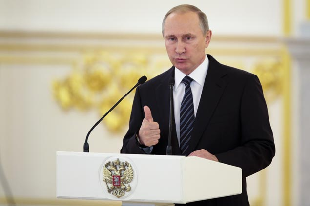 Russia President Vladimir Putin says ban on Russian Paralympic team inhumane, immoral