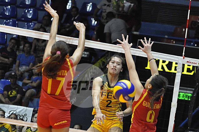 FEU Lady Tams close in on V-League semis with rout of San Sebastian