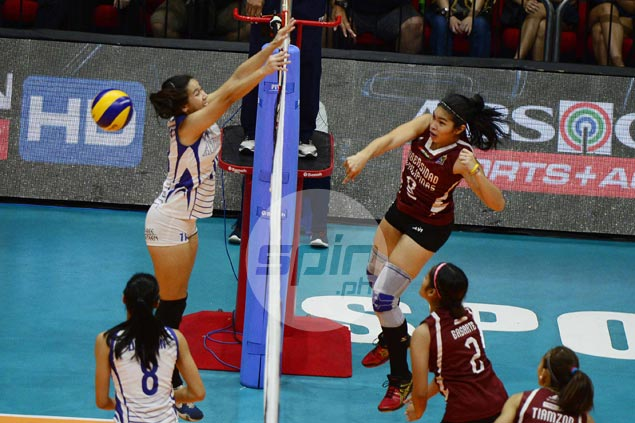 UP Lady Maroons back on winning track with four-set victory over Ateneo Lady Eagles