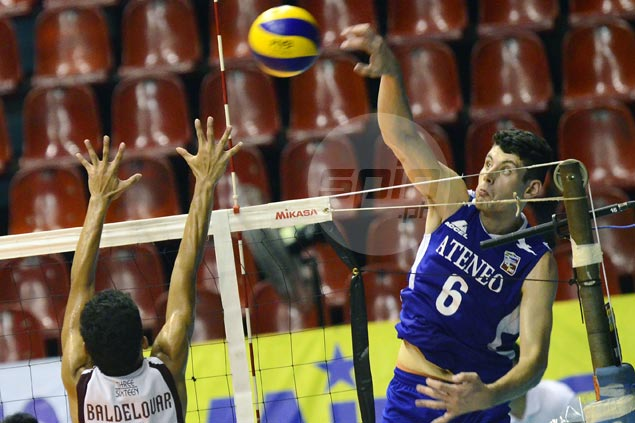 Ateneo clobbers UP to complete sweep of group play in Spikers Turf