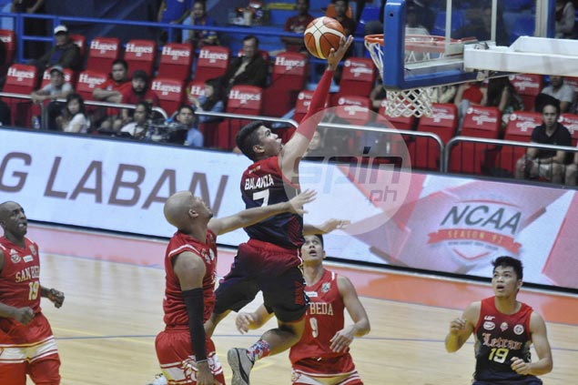 Balanza, two other Letran players, San Beda's Bonsubre suspended for roles in commotion