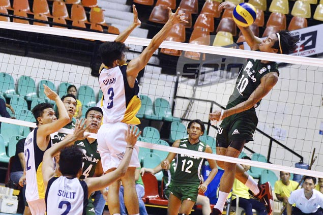 St. Benilde Blazers whip PMMS Mariners in battle of also-rans in Spikers Turf
