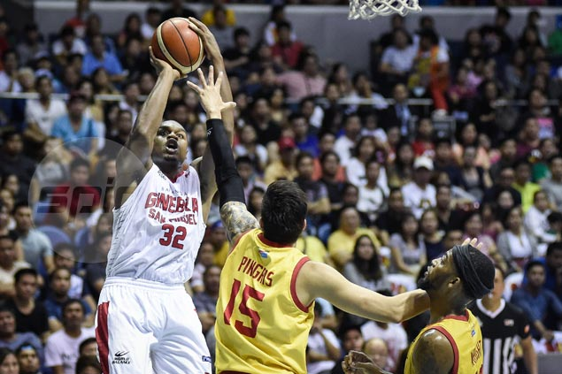 Justin Brownlee's spot as Ginebra import looks secure with departure of injured Paul Harris