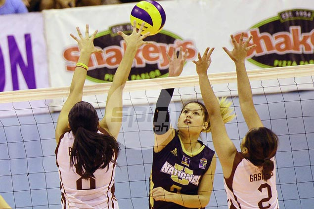 NU Lady Bulldogs complete sweep of V-League quarterfinals with win over UP Lady Maroons