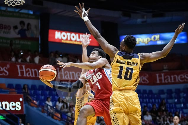 EAC Generals snap three-game skid and stop JRU Bombers' win run at four