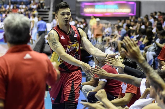 Gary David says first SMB meeting against former team Meralco 'like any other game'