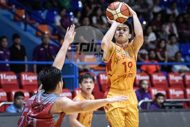 RK Ilagan hits seven triples as Stags down Pirates for fourth straight victory