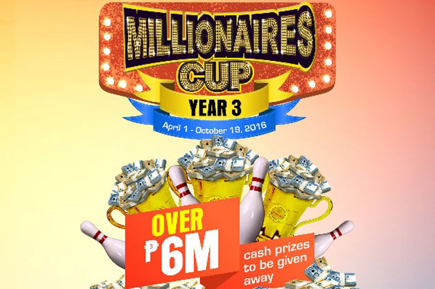 New format, bigger cash prizes spice up third season of SM Bowling Millionaires Cup