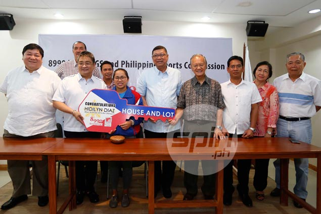 Hidilyn Diaz awarded house and lot as part of incentives for Olympic silver medal