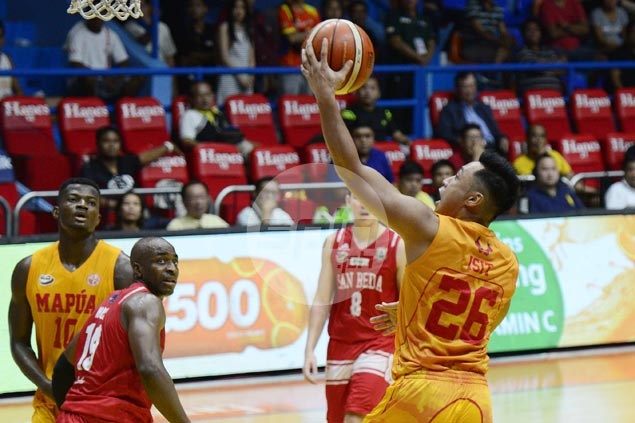 CJ Isit takes charge in OT as Mapua Cardinals end long run of futility against San Beda Red Lions