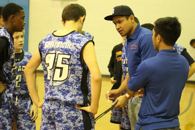 Former PBA player Ogie Menor settles down in US as coach, part-time bartender and ref