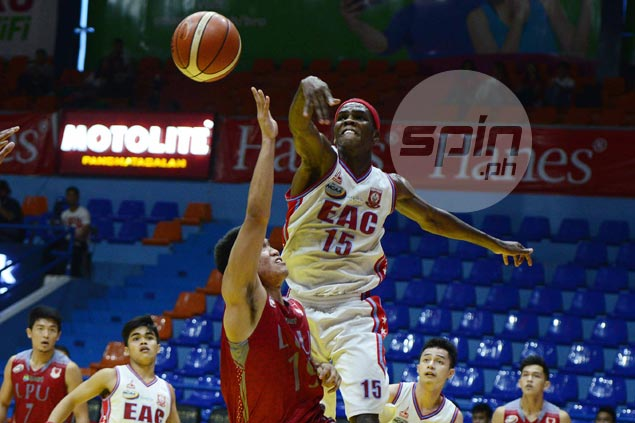 EAC blows big lead but Francis Munsayac takes over late to foil Lyceum comeback