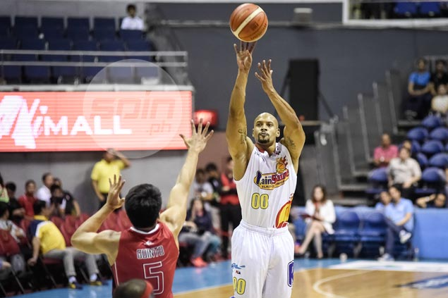 Jason Forte blames jitters as Guiao calls him out for one to many missed free throws
