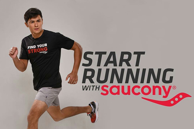 Matteo Guidicelli leads Saucony campaign to help people find joy in running