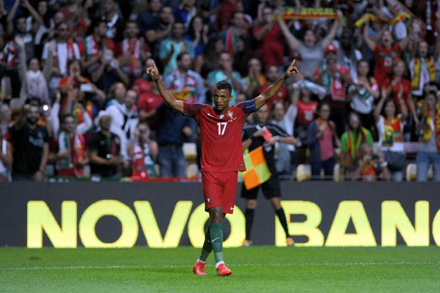 Nani shines in Cristiano Ronaldo's absence as Portugal blows out Gibraltar
