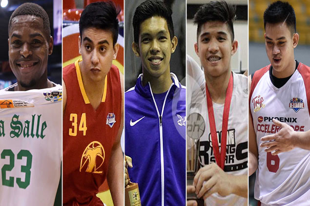 Ben Mbala, Thirdy Ravena, Louie Vigil and other 'marked men' in UAAP Season 79