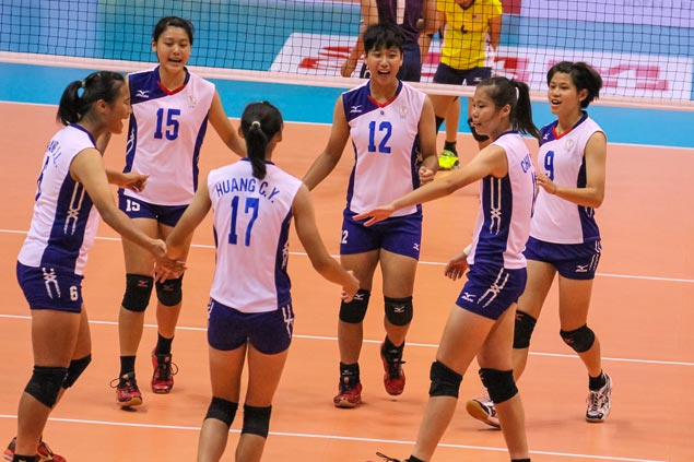 Chinese Taipei squad whips Malaysian side in Asian Womens Club Championship opener
