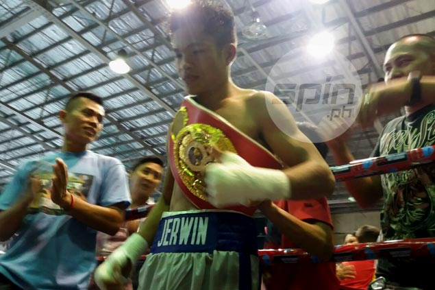 'Pretty Boy' Ancajas looks much better with world title belt wrapped around his waist