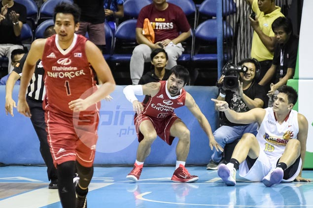 Rain or Shine's Jewel Ponferrada suspended one game for flagrant fouls vs Mahindra