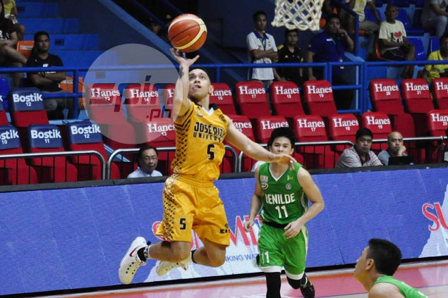 Vergel Meneses hopes for no more letdowns from Paolo Pontejos in JRU's push for Final Four