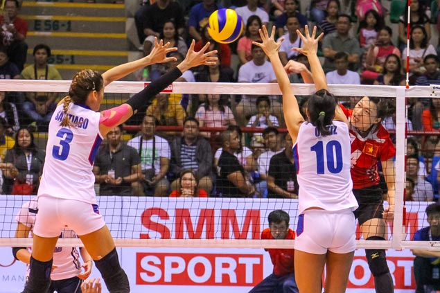 Vietnamese squad sends Foton Pilipinas crashing back to earth in Asian Women's Club Championship
