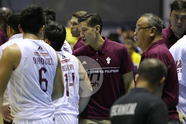 SMB guard Alex Cabagnot prepares for future career as part of UP coaching staff