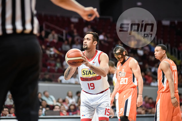 Jerwin Gaco lives up to lucky charm role as seldom-used Star forward makes most of cameo appearance