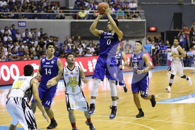 Thirdy Ravena, Aaron Black form deadly one-two punch for Ateneo in win over UST Tigers