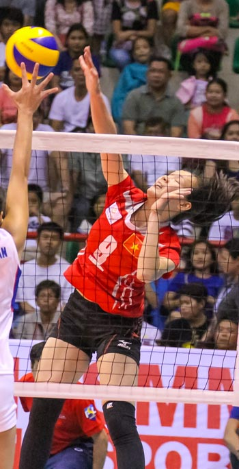 Vietnam team keeps bid for fifth spot alive with straight-sets win over Chinese Taipei squad