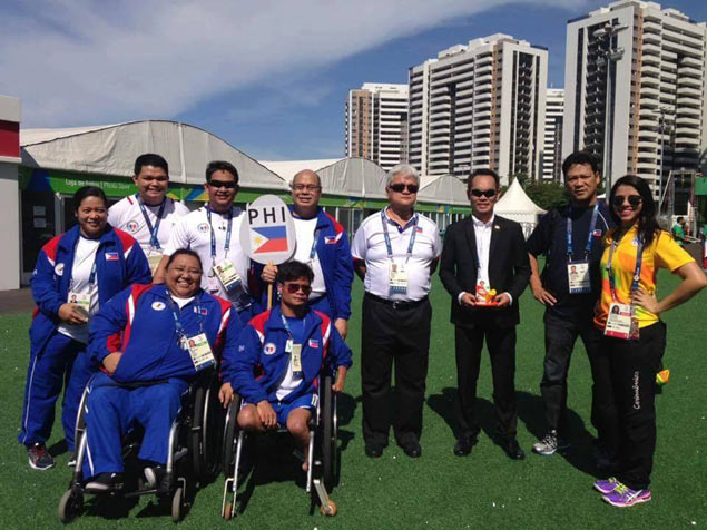 Ernie Gawilan offers Paralympics quest to fellow Dabawenyos in wake of deadly Davao blast