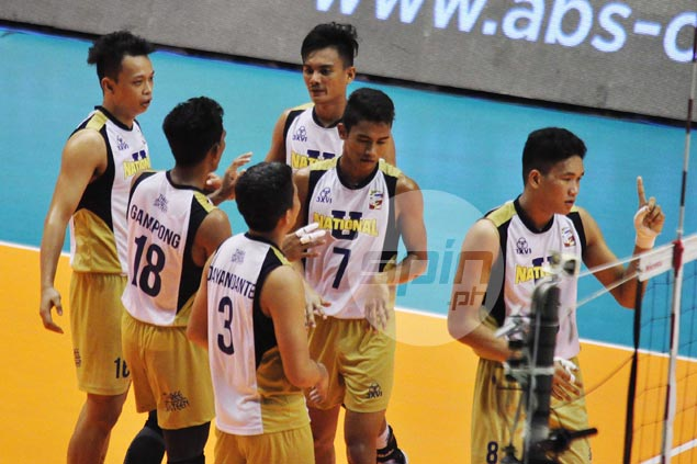 NU mauls UST to book rematch with Ateneo for Spikers Turf Collegiate Conference title