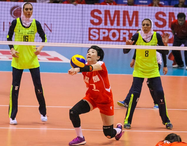 China club makes short work of Iranian side in Asian Women's Club Championship