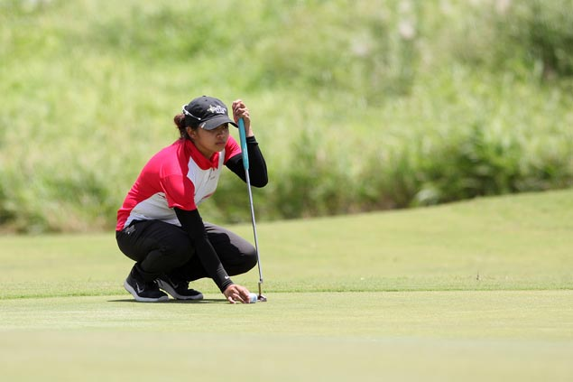 Thai golfer sets pace as Princess Superal stands one stroke off in Sherwood Ladies Classic