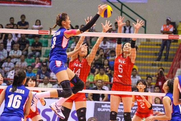 Jaja Santiago, Dimaculangan, Gonzaga stand out in eyes of Japan coach in losing effort