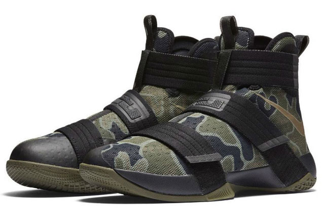 LeBron James to debut Nike LeBron Soldier 10 'Camo' shoe during third Manila visit