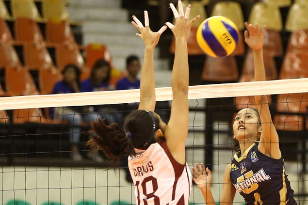 NU Lady Bulldogs complete semis sweep of UP Lady Maroons to book return trip to V-League finals