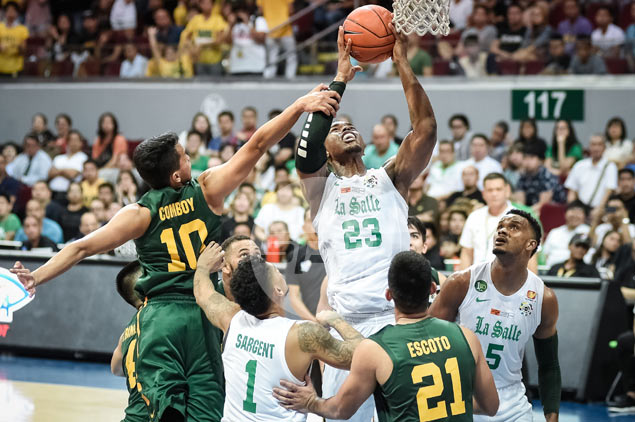 As dominant as he was, Ben Mbala not too pleased with spotty La Salle debut